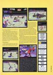 Scan of the review of NHL Breakaway 98 published in the magazine Hyper 54, page 2