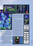 Scan of the review of Yoshi's Story published in the magazine Hyper 55