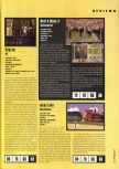 Scan of the review of Bust-A-Move 2: Arcade Edition published in the magazine Hyper 57, page 1