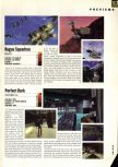 Scan of the preview of Perfect Dark published in the magazine Hyper 58