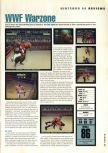Scan of the review of WWF War Zone published in the magazine Hyper 58