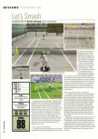 Scan du test de Centre Court Tennis paru dans le magazine Hyper n� 65