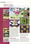 Scan of the review of Mario Party published in the magazine Hyper 67