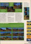 Scan of the review of A Bug's Life published in the magazine X64 20