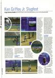 Scan of the review of Ken Griffey Jr.'s Slugfest published in the magazine Hyper 70, page 1