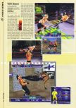 Scan of the preview of WCW Mayhem published in the magazine Hyper 73