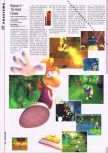 Scan of the preview of Rayman 2: The Great Escape published in the magazine Hyper 73