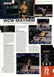 Scan of the test of WCW Mayhem published in the magazine Hyper n� 74