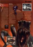 Scan of the preview of Turok: Rage Wars published in the magazine Hyper 75