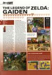 Scan of the preview of The Legend Of Zelda: Majora's Mask published in the magazine Hyper 75