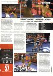 Scan of the review of Knockout Kings 2000 published in the magazine Hyper 75