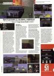 Scan of the review of Battletanx: Global Assault published in the magazine Hyper 75