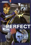 Scan of the review of Perfect Dark published in the magazine Hyper 82