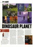 Scan of the preview of Dinosaur Planet published in the magazine Hyper 83