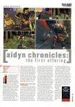 Scan of the preview of Aidyn Chronicles: The First Mage published in the magazine Hyper 84