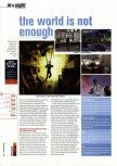 Scan of the preview of 007: The World is not Enough published in the magazine Hyper 86
