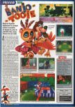 Scan of the preview of Banjo-Tooie published in the magazine Screen Fun 04
