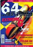 Cover scan of magazine 64 Extreme  7