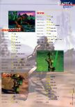 Scan of the walkthrough of Dark Rift published in the magazine 64 Extreme 7