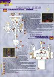 Scan of the walkthrough of Hexen published in the magazine 64 Extreme 7, page 15