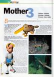 Scan of the preview of Earthbound 64 published in the magazine 64 Extreme 7, page 1