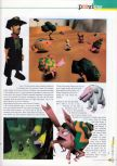 Scan of the preview of Earthbound 64 published in the magazine 64 Extreme 7