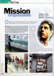 Scan of the preview of Mission: Impossible published in the magazine 64 Extreme 7
