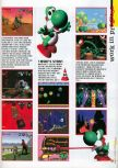 Scan of the preview of Yoshi's Story published in the magazine 64 Extreme 7