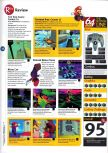 Scan of the review of Super Mario 64 published in the magazine 64 Magazine 01