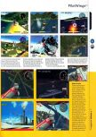 Scan of the review of Pilotwings 64 published in the magazine 64 Magazine 01