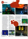 Scan of the review of Doom 64 published in the magazine 64 Magazine 01, page 3