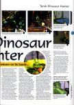 Scan of the preview of Turok: Dinosaur Hunter published in the magazine 64 Magazine 01