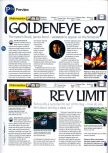Scan of the preview of Rev Limit published in the magazine 64 Magazine 01