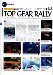 Scan of the preview of Top Gear Rally published in the magazine 64 Magazine 01