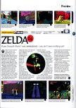 Scan of the preview of The Legend Of Zelda: Ocarina Of Time published in the magazine 64 Magazine 01