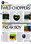 Scan of the preview of Chopper Attack published in the magazine 64 Magazine 01