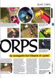 Scan of the preview of Blast Corps published in the magazine 64 Magazine 01