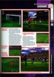Scan of the preview of Michael Owen's World League Soccer 2000 published in the magazine 64 Magazine 25, page 2
