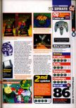 Scan of the review of Mario Party published in the magazine 64 Magazine 25, page 2