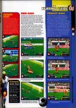 Scan of the walkthrough of International Superstar Soccer 98 published in the magazine 64 Magazine 25, page 2