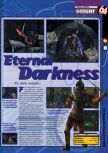 Scan of the preview of Eternal Darkness published in the magazine 64 Magazine 41, page 1