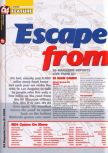 Scan of the article Escape From L.A.  published in the magazine 64 Magazine 41, page 1