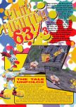 Scan of the preview of ClayFighter 63 1/3 published in the magazine Nintendo Magazine 53