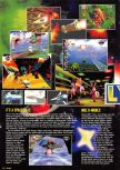 Scan of the preview of Lylat Wars published in the magazine Nintendo Magazine 54