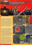 Scan of the review of Hexen published in the magazine Nintendo Magazine System 54, page 1