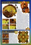 Scan of the walkthrough of Diddy Kong Racing published in the magazine Nintendo Magazine 60