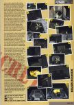 Scan of the walkthrough of Goldeneye 007 published in the magazine Nintendo Magazine 60