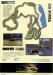 Scan of the walkthrough of Automobili Lamborghini published in the magazine Nintendo Magazine System 60, page 5