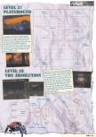 Scan of the walkthrough of Doom 64 published in the magazine Nintendo Magazine 61