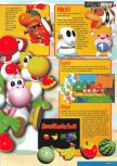 Scan of the review of Yoshi's Story published in the magazine Nintendo Magazine 62